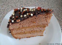 Tarta de chocolate y dulce de leche (tarta brasileña) Vanilla Cake, Tiramisu, Chocolate, Ethnic Recipes, Desserts, Food, Brazilian Recipes, Pastries, Sweets