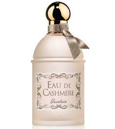 Eau de Cashemere de Guerlain http://www.vogue.fr/beaute/buzz-du-jour/articles/parfum-eau-de-cashmere-de-guerlain/22454