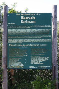 """Signboard in Hankey featuring Diana Ferrus' 1998 poem """"I've come to take you home."""""""