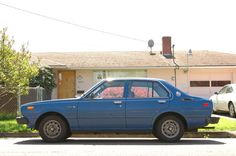 1979 Toyota Corolla Sedan ~my first new car $4,000 bucks at $80 per month