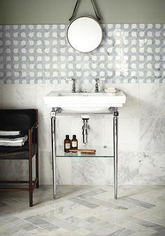 High Society Marmor Mosaik, den ultimative elegance og rigdom i mosaik til badeværelset, entreen, køkkenet eller mange andre typer af rum