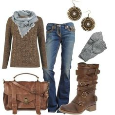 How to wear a dress in the winter with boots