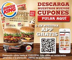 Llegan los cupones descuento a Burger King. Descárgate la cartilla repleta de cupones y disfruta del ahorro en sus entrantes, menús y postres.  Promoción válida para España hasta el 17/02/2014.  + Info: http://www.baratuni.es/2014/01/cupones-descuento-burger-king-enero-febrero-2014.html  #cuponesdescuento #burgerking #restaurantes