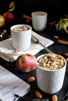 Mug wholemeal apple cake _ Mug cake integrali alle mele