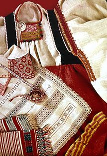Folk Costume, Costumes, Different Patterns, Traditional Dresses, Folklore, Surface Design, Finland, Indigo, Two By Two