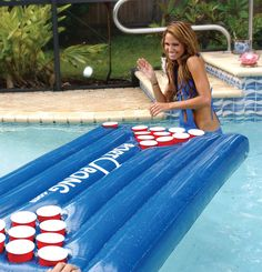 Inflatable Beer Pong Table - need this!