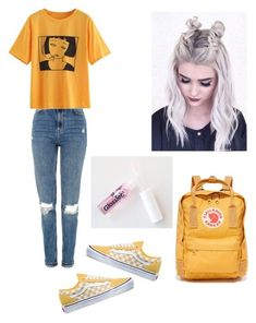 """2017"" by haileymagana on Polyvore featuring Vans, Topshop and Fjällräven"