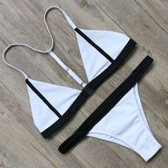 Bikini #swimwear #swimsuit Women Biquini Push Up Brazilian Bikini Set Femme Beachwear Bathing Suit Swim Wear