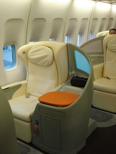 Japan Airlines First Class Row 2K