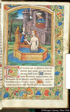 Book of Hours, MS M.1114 fol. 45r - Images from Medieval and Renaissance Manuscripts - The Morgan Library & Museum