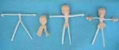 Tutorial hoofd en lijf popje maken