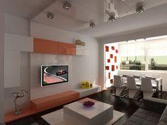 Дизайн и преразпределение на малък апартамент http://indesign.bg/jilishten_interior_19