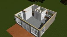 First Floor 3D Rendering