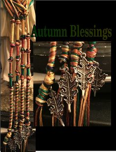 Autumn Blessings Tzitzits by AriellaHannah on Etsy