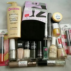New 18 piece beauty bundle Willing to seperate or bundle together lumene Other