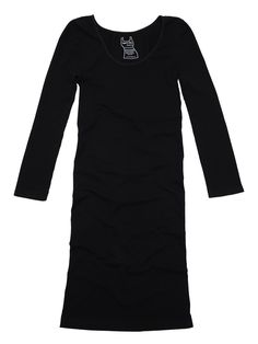 3/4 Sleeve Reversible Tunic Slip Dress