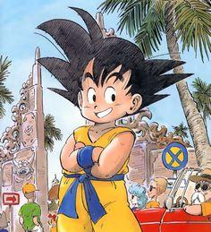 Goku at the Budokai