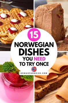 Norwegian Cuisine, Norwegian Food, Norwegian Recipes, Unique Recipes, Popular Recipes, Nordic Recipe, Food From Different Countries, Viking Food, Norway Food