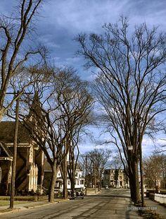 Street scene. Brockton, Massachusetts. 1940 December