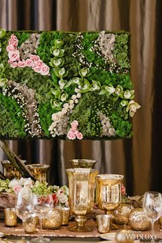 #tablescape A Living Garden-Inspired Indoor Styled Shoot- Wedding Ideas | WedLuxe Magazine
