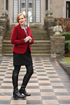 Five Ways to Style Over the Knee Boots