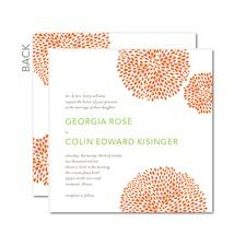 Petal Clusters Wedding Invitations