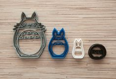 4 pieces Size: 4 inches, 3 inches, 2 inches, 1 inches in length.    Please, do…