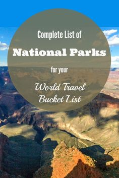 "To commemorate the the 100th Anniversary of the National Park Service, we enlisted dozens of our travel blogging friends to assemble a MASSIVE guide to all 59 designated U.S. National Parks. Check out our most epic post ever, on what Ken Burns called ""America's Best Idea""!"