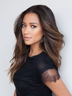 Shay Mitchell Bioré Healthy Hair