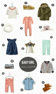 urban nester: if I had all the money in the world {baby girl dream wardrobe}