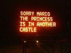 Try again ! #Mario