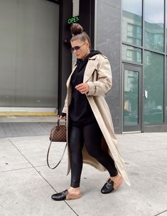 5 WAYS TO WEAR SPANX LEATHER LEGGINGS   THE RULE OF 5 Chic Outfits, Fashion Outfits, Hijab Fashion, Women's Fashion, Everyday Outfits, Everyday Fashion, Spanx Leather Leggings, Style Blog, Blogger Style