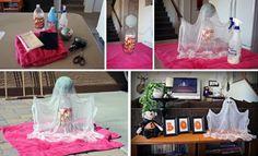 DIY Halloween bubak kreativita boo