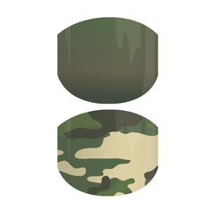 Camo Kids   Jamberry Nails A bold camo design is paired with a more subtle one to help little fingers hide in the woods. #CAMOKIDSJN