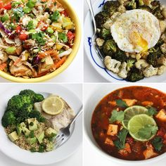 Improve Your Digestion & Lose Weight with 30 Low-Calorie Dinners | POPSUGAR Fitness #WeightLoss [ GroovyBeets.com ]