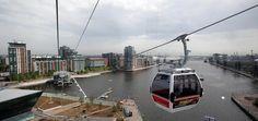 Sehenswürdigkeiten in London: Cable Car über die Themse   21985   myEntdecker