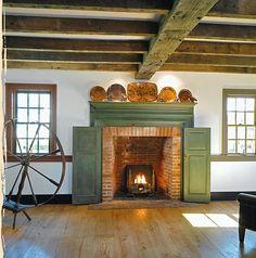 Fireplace shutters | Beautiful