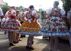 Voivodina Hungarians (Kupusina and Doroslovo) women's national costume. Hungarian Women, Costumes Around The World, Folk Clothing, Folk Dance, Beautiful Costumes, My Heritage, Folk Costume, World Cultures, Traditional Dresses