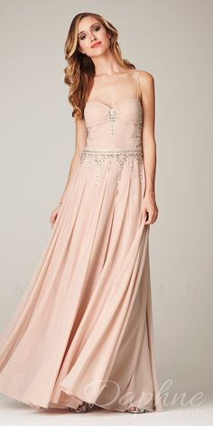 Sweet & Flowing! This lovely gown has an embellished bodice and flowing skirt.  Size 8 only!  WAS...$578  NOW...$298!!
