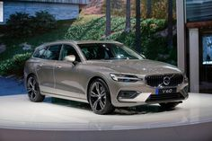 Check Out Volvo's New Wagon From The Geneva Show Floor Volvo V60, Geneva, Bmw, Vehicles, Style, Car, Vehicle, Tools
