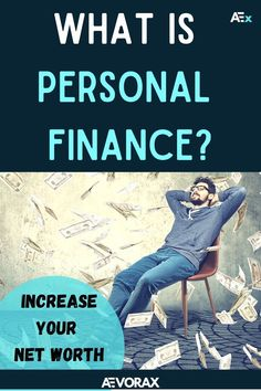 Personal finance is a term that covers managing your money as well as saving and investing. It includes budgeting, banking, insurance, mortgages, investments, retirement planning, and tax and estate planning. Do you want to know more? We give you everything you need to know to get started! With these 7 hacks you will be able to increase your net worth and start saving right now! | #personalfinancestips #moneymanagement #moneytips What Is Personal Finance, Monthly Expenses, Borrow Money, Lost Money, Managing Your Money, Retirement Planning, Finance Tips, Net Worth, Money Management