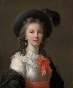 Self-Portrait depicts Elisabeth Louise Vigée Le Brun at the age of about twenty-six, several years after she painted the first of her many portraits of Queen Marie-Antoinette. She is dressed as a lady of society. Marie Antoinette, Oil Canvas, Female Painters, Elisabeth, French Revolution, French Artists, Art Pages, Art Google, 18th Century
