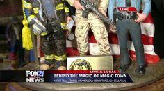 Magic Town on Morning News Morning News, Storytelling, Magic