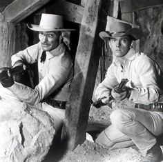 Lawman - Internet Movie Firearms Database - Guns in Movies, TV and Video Games Peter Brown Actor, Gary Clark, John Russell, Cowboy Up, Cowboy Boots, Tv Westerns, Old Movie Stars, Internet Movies, Old Tv Shows