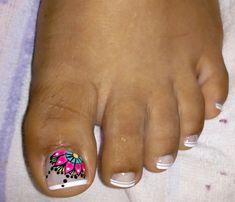 Pretty Toe Nails, Cute Toe Nails, Cute Toes, Pretty Toes, Toe Nail Art, Nail Polish Designs, Nail Designs, Mani Pedi, Manicure
