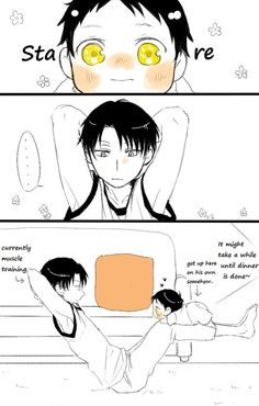 ~ Attack on Titan ~ :: Levi & Baby Eren ... Part 1 ...