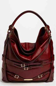 BURBERRY leather tote This is a great bag I have in black and just love it!