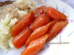 "Slow Cooker Cinnamon Carrots: ""This goes real well with a pot roast or a steak dinner."" -weekendcooker"