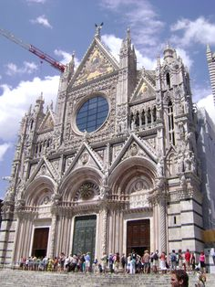 cathedral in Siena, Italy