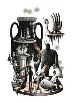 Optically Addicted: The Illustration and Art of Nicolas Barrome...